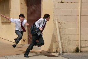 School Yard Justice - Running